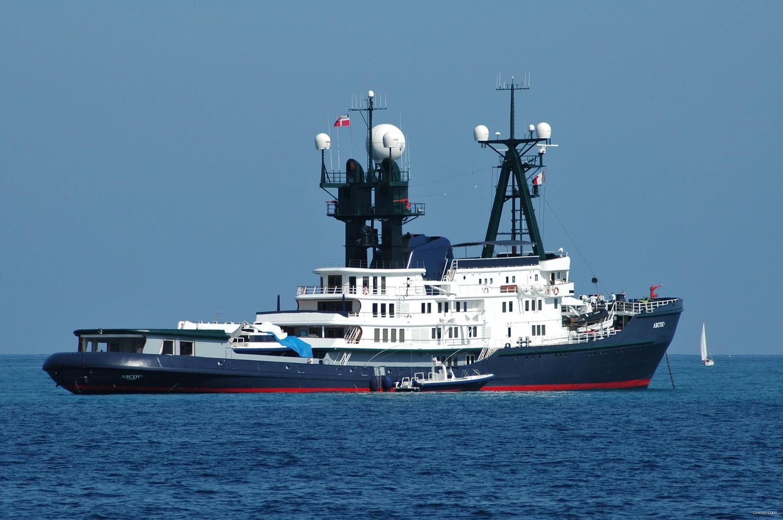 Yacht ARCTIC P Schichau Unterweser CHARTERWORLD Luxury